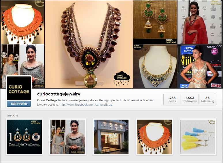Curio Instagram