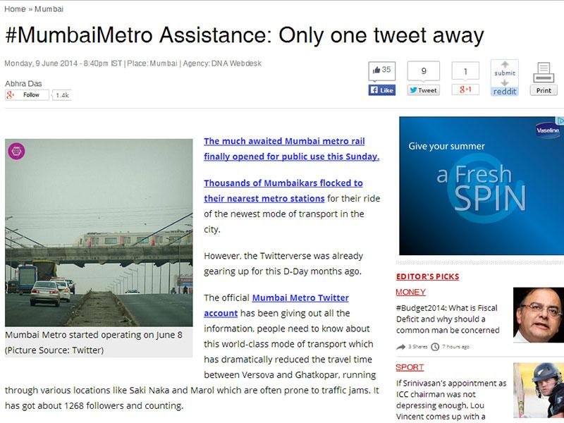 MumbaiMetro Assistance