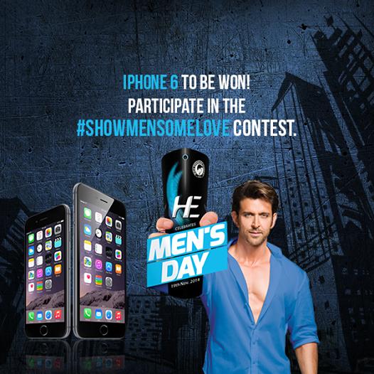 #ShowMenSomeLove : HE Deodorant Campaign