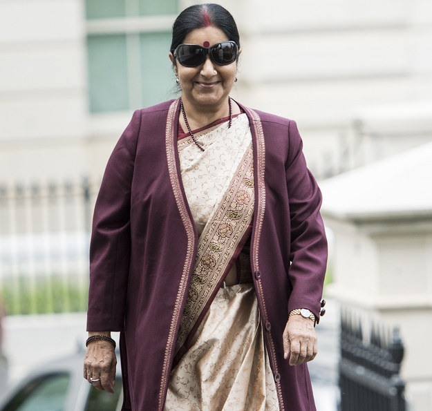 "Sushma Swaraj; Putting the ""Public"" in Public Relations."