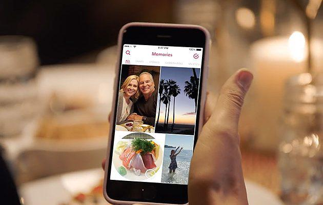 Now say goodbye to camera roll with Snapchat memories!