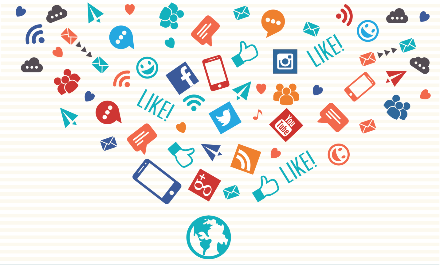a comparison of pinterest and tumblr to other forms of social media such as facebook or twitter